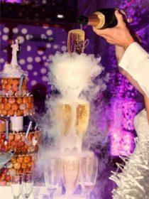 Crystal traiteur réception service champagne mariage Perpignan 66
