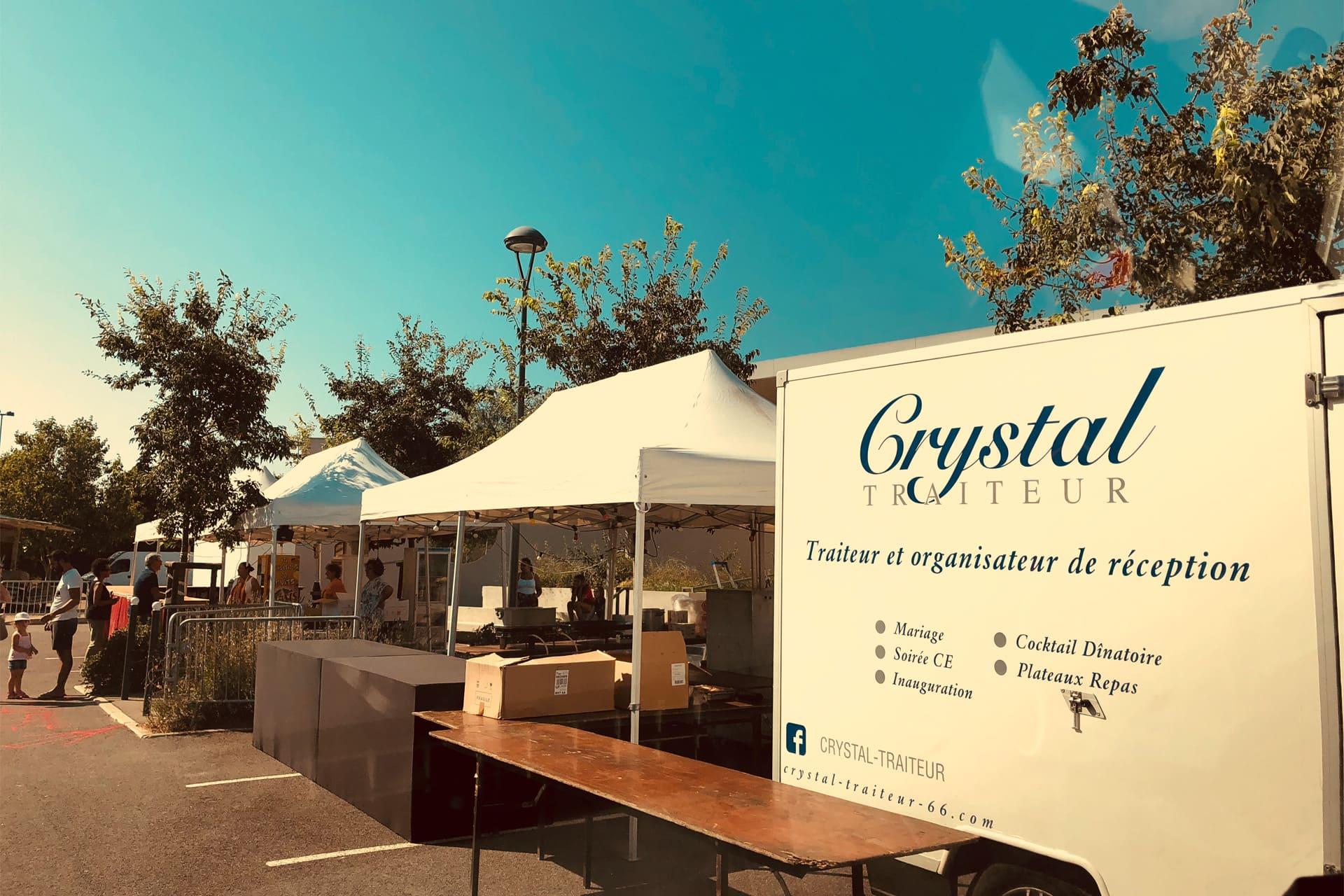 Traiteur Crystal service sur place Perpignan 66